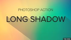 Whether it is a text or an icon, you can use this free Photoshop Action designed by Zinx to apply long shadow effect. There are a lot of Long Shadow Generator Actions for Photoshop but I am not sat...
