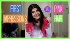 Δοκιμάζω Σκιές & Φουξ Μαλλιά | katerinaop22 Pink Hair, Youtubers, Neon Signs, Bb, Disney, Rosa Hair, Disney Art