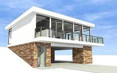 Great views all around with Architectural Designs Plan 44065TD