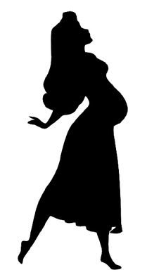 Silhouette Aurora pregnant - made me think of you @Jennifer Marzetta