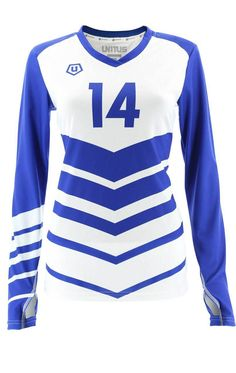 In RED Women's Volleyball Jersey Elite 1