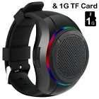 ﹩23.30. Outdoor Wireless Bluetooth Speakers Watch Shape Ultra Portable with LED lights    UPC - 711091779279