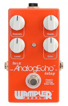 Wampler AnalogEcho Delay Effects Pedal