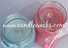 Baby Food Jar Candle Craft | , Cheap, Candle Favors! - Scented Gel Candles, Votive Candles, Jars ...