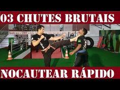 03 chutes MORTAIS para NOCAUTEAR FÁCIL - onde chutar para vencer uma luta - Defesa Pessoal Krav Maga - YouTube