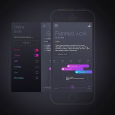 It's a concept application that allows you to track the system errors on the timeline.  Subscribe me and find more: (link is on my page) http://ift.tt/1Pv6od0  #digital #interface #mobile #design #application #ui #ux #webdesign #app #concept #userinterface #userexperience #inspiration #materialdesign #instaart #creative #dribbble #digitalart #behance #appdesign #sketch #designer #web #userflow by webinterfaces