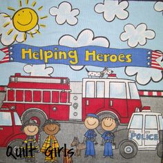Helping Heroes Soft Cloth Storybook