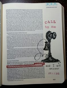 """Jeremiah 33:3 - """"Call to Me and I will answer"""" By PaulaKay Bourland"""