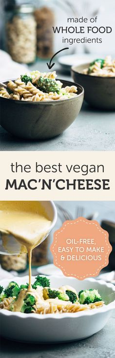 The Best Vegan Mac and Cheese (Oil-free, Healthy)