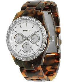 Fossil Tortoise Plastic Watch....He WILL buy me lol