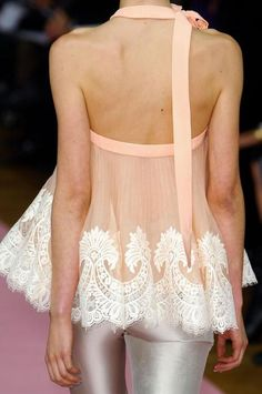❦ Alexis Mabille Haute Couture Spring 2013, details.