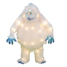 1000 ideas about abominable snowman rudolph on pinterest for Abominable snowman lawn decoration