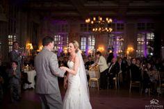Wedding Day | Franklin Plaza Reception | First Dance | Purple Uplighting © Matt Ramos Photography