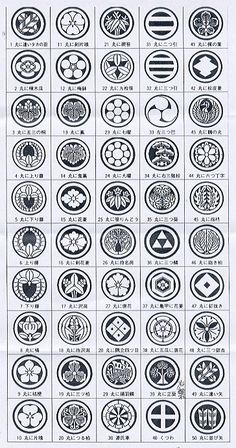 Japanese family crests 家紋