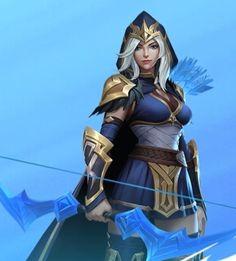 Ashe League Of Legends, League Of Legends Characters, Fictional Characters, Fantasy Landscape, Fantasy Art, Character Concept, Character Art, Mma, Legend Images
