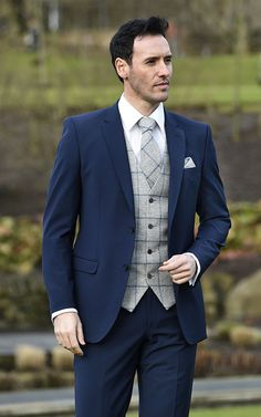 15b7cc7f4889 ultimate formal hire suits collections. See more. Image result for four  button waistcoat suit Navy Suit Grey Waistcoat
