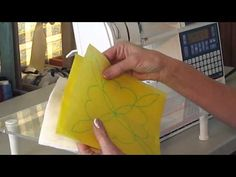 examples of how to machine quilt with templates
