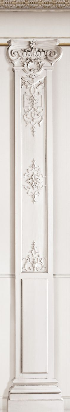 French Trompe l'oeil wallpaper by Christophe Koziel - Column