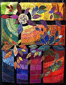 More Amazing Quilts - Mancuso International Quilt Show | EXPLORATIONS. Not your mothers nine patch.