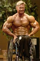 Wheelchair Bodybuilding - Victor Konovalov - How Inspiring - my new hero! Training Motivation, Fitness Motivation, Spinal Cord Stimulator, Mobility Aids, Spinal Cord Injury, Triceps Workout, Bodybuilding Workouts, For Your Health, Mens Fitness