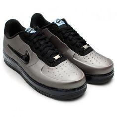 Nike Air Force 1 Foamposite Faible Étain