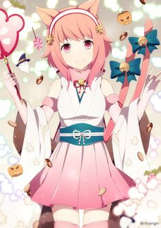 Sakura ; Haloween baner FE Heroes