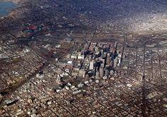 The sprawling city of Denver, CO