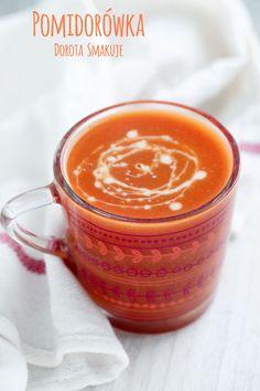 Zupa pomidorowa zabielana mlekiem owsianym