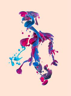 One of the masters of high speed liquid photography, Alberto Seveso, is back with a new series of photos titled Dropping. The Italian photographer achieved these particular shots by dropping mixtures of colored ink into a container of oil and then flipping the final images upside down. See several more from the series