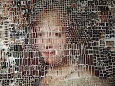 Mind-Blowing Portraits Made of Test Tubes and Pushpins | Michael Mapes recreated some of the Dutch Masters' most famous portraits.   Michael Mapes  | WIRED.com
