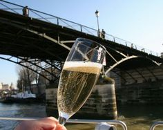 Champagne Cruise in Paris. Picture this: you and the person you love cruising down the Seine, sipping on Champagne while enjoying the splendid views of Paris. this is exactly what is offered on this Paris Champagne Cruise. Paris River Cruise, Seine River Cruise, Overseas Adventure Travel, Famous Monuments, Champagne Taste, Boat Tours, Famous Places, Paris Travel, France Travel
