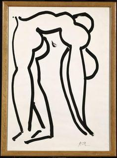Matisse - Acrobate, 1952, tinta china, 105 x 75 cm