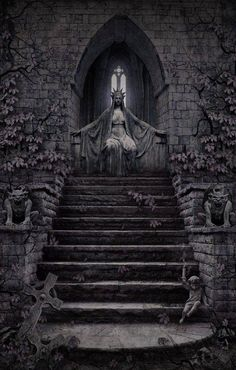 Dark Digital Art / Photography / Nightmare / Creature / Surreal / Death / Horror / Creepy // ♥ More at: https://www.pinterest.com/lDarkWonderland/