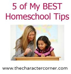 5 of my BEST Homeschool Tips
