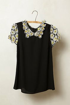 Fluttered Daisy Top #anthropologie