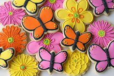 Butterfly Cookies decorating how-to