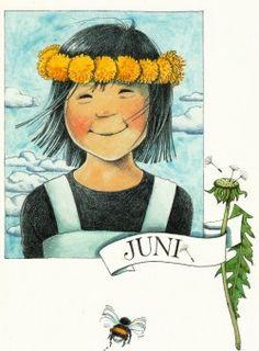 Juni (K50-589) ansichtkaart