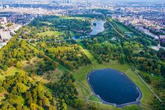 10 Prints to Get You in the St. Paddy's Day Spirit   Hyde Park, London by Gray Malin