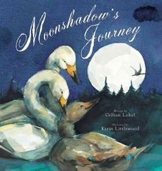 When his beloved grandfather is killed in a storm while leading the swan flock south for the winter, Moonshadow is reassured by his father that the flock will go on with Grandfather always in their hearts.