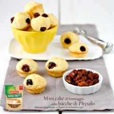 Mini cake al formaggio e bacche di Physalis by  @juno82