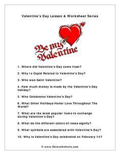 Valentine's Day Activities on Pinterest