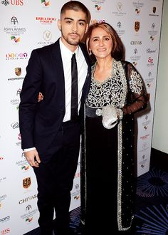 Zayn and his mom