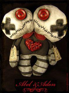 Burlap Halloween, Halloween Clay, Halloween Decorations, Ugly Dolls, Creepy Dolls, Cute Dolls, Voodoo Doll Tattoo, Voodoo Dolls, Monster Dolls