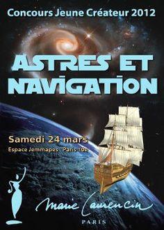 Affiche du concours jeunes créateurs Lycée Marie Laurencin Paris 2012