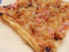 Cuina de la Mare: Tatin de ceba i cansalada fumada / Tatín de cebolla y beicon