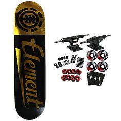 Skateboards-Complete 16264: Element Skateboard Complete Script Gold 8.0 -> BUY IT NOW ONLY: $69.95 on eBay!