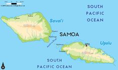 Samoa, also known as the Independent State of Samoa, is situated on the south of the equator and the east of the International Date Line. Description from ezilon.com. I searched for this on bing.com/images
