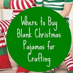 Both Silhouette Cameo and Cricut small business crafters can use heat transfer vinyl and their machine to easily customize blank pajamas. Every year, I get emails asking where to buy Christmas themed pajamas. Honestly, it is best to buy these as early in the season as you can because they sell out every year. If …