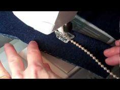 Husqvarna Viking Cording & Piping foot video