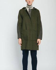 Removable Hooded Coat